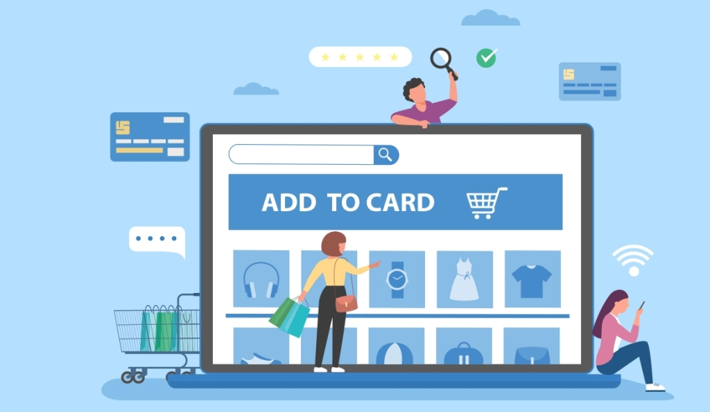 Online shopping store launch