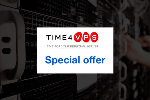 Time4VPS spcial offers