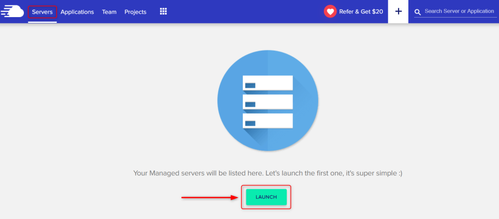 Guide how to Launch server VPS on Cloudways