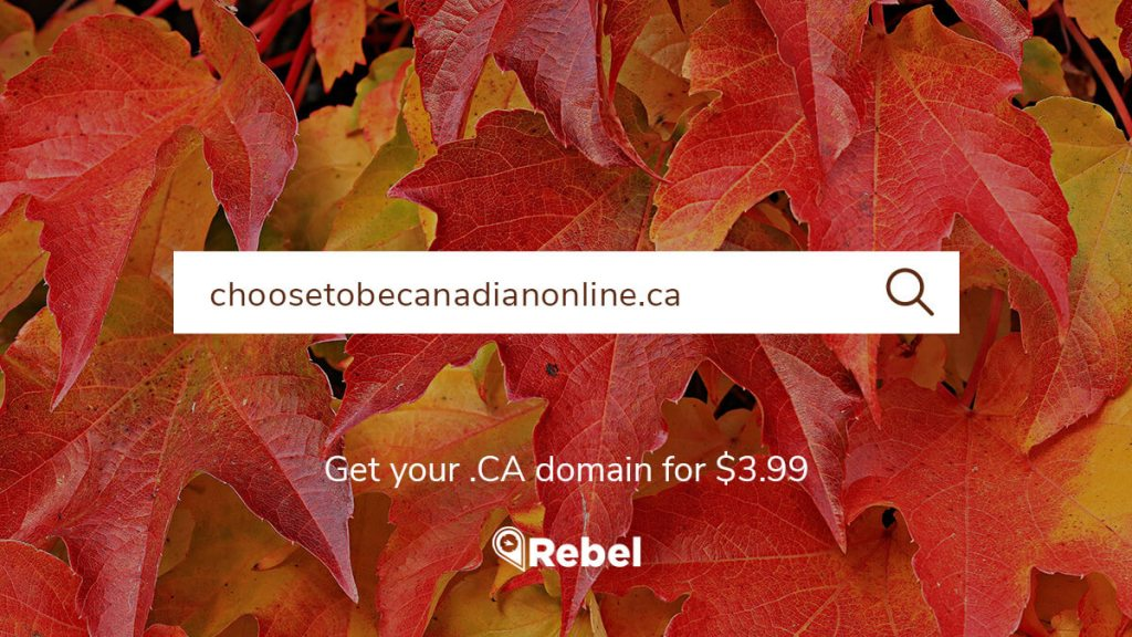 Register .CA domain name extension now